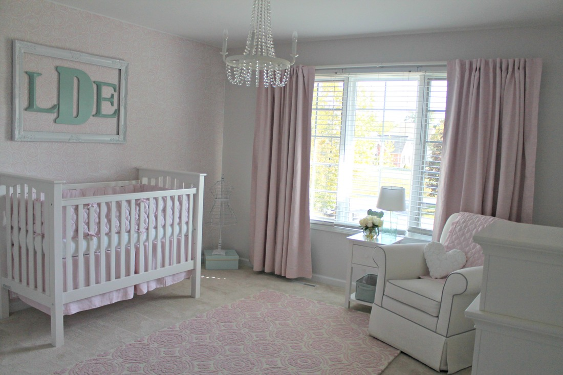 Nursery pear design studio pear design studio came up with a great way to make this cape style nursery come alive big bold stripes were just the answer amipublicfo Images